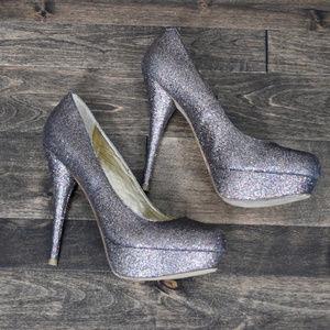 Steve Madden Glitter Heels - 8.5